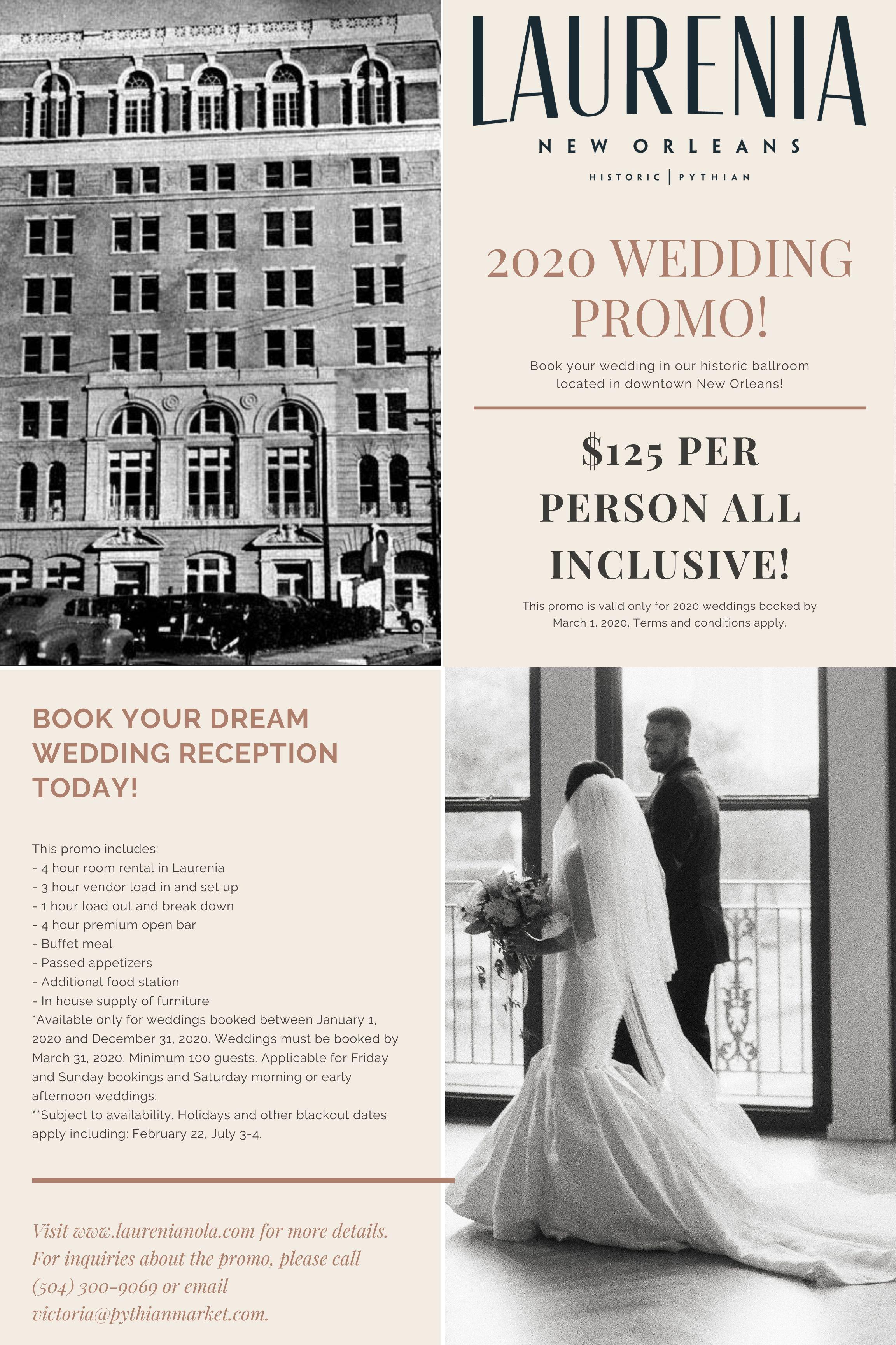 2020 Wedding Promo